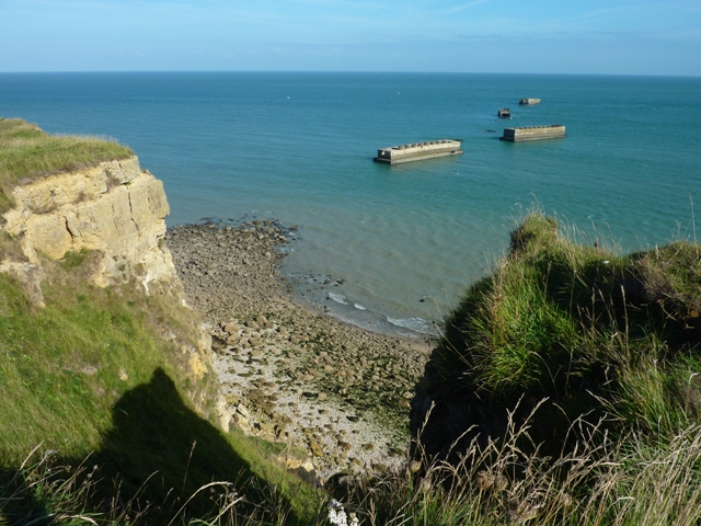 Landing Beaches - Artificial Port Arromanches