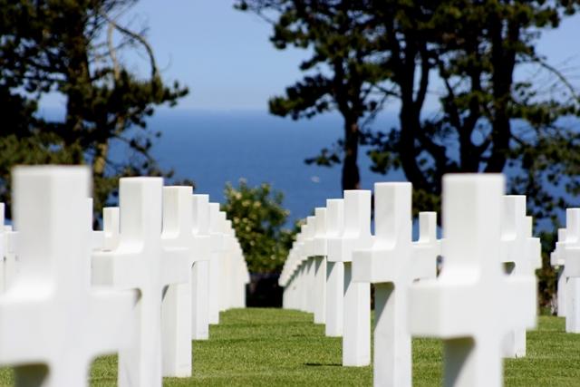 Landing beaches - American Cimetery